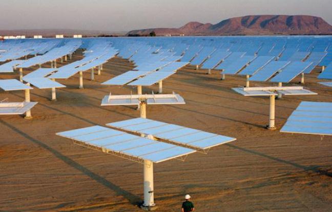 panneaux solaire à Sahara